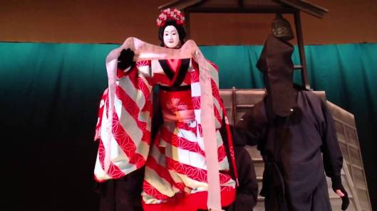 Bunraku, an extraordinary puppet theater of Japan.