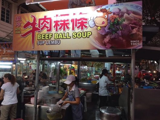 Out of this world beef soup from this happy cow.