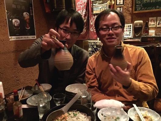 Toshiya Watanabe and Takumi Ikeda.