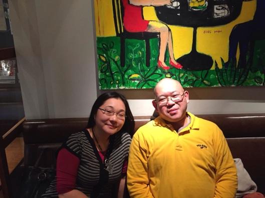 Tomoko Momiyama and Masamichi Kinoshita.