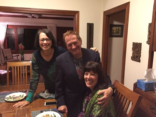 Jan with Larry and Pam.