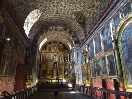 The Santa Clara Convent in Bogota's La Candelaria.