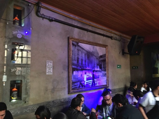 The glow of Latin America comes through in Bogota's El Candelario.