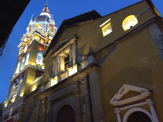 The Cathedra of Cartagena.