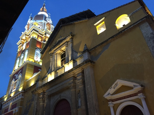 The Cathedral of Cartagena.