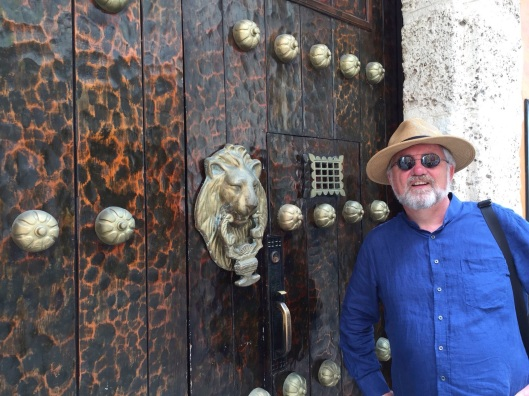 AT the door of the Spanish Inquisition, featured in Marquez's Love ...& Other Demons.