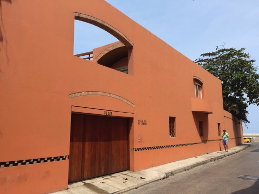 The home of Gabriel Garcia Marquez in Cartagena.