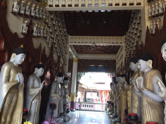 The Hall of the Buddhas.