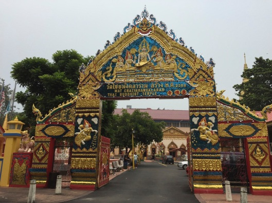 The Thai Buddhist Temple in Georgetown.
