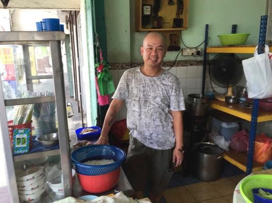 The genius Pernakan chef of Kedai Kopi Sin Hwa.