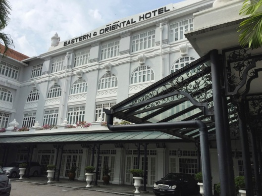 The Eastern & Oriental Hotel in Penang hosted Maugham and Hermann Hesse.