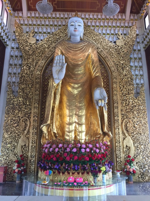 A Burmese Buddha in Penang.