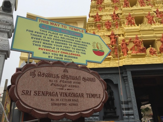 The spirit of Hesse can be seen at this Hindu temple in Singapore.