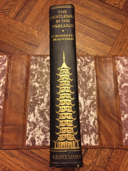 A first edition of Maugham's Rangoon to Haiphong book.
