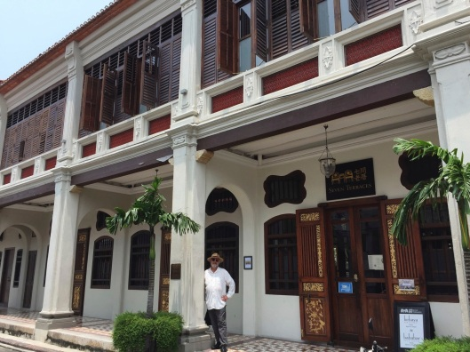 Seven Terraces in Geoergetown on Penang Island.