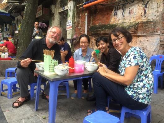 Haute cuisine in Hanoi!