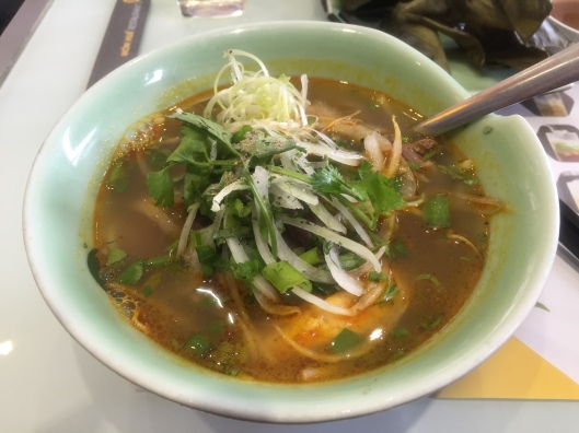 Delicious soup.