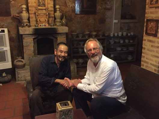 A handshake contract with my good friend Dam Quang Minh in Bac Ninh.