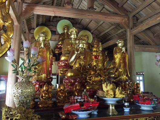 Shining new Buddhas.