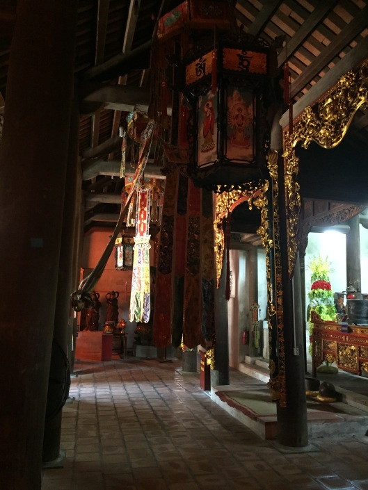 The entrance to the temple.