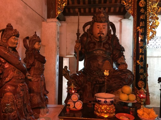 The God of Good Things at Chua Dau.