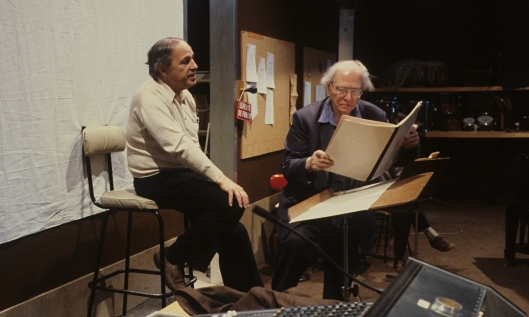 Pierre Boulez and Olivier Messiaen,