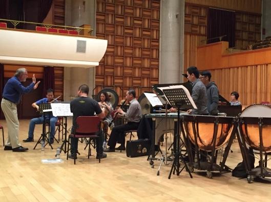 Rehearsing Boulez in Ha Noi.