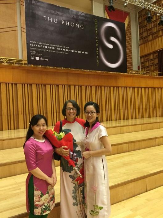 Jan with Giàng Dương and Tam Trần Ngọc.