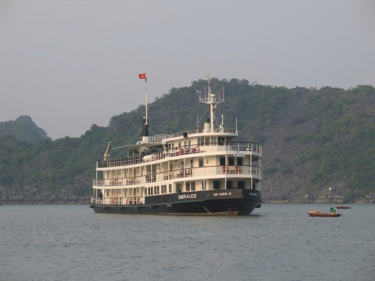 The Emaraude is excellent for a one night stay on Ha Long Bay.