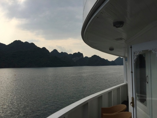 My office for a few days on Ha Long Bay.