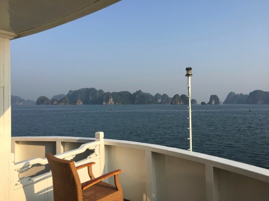 My office on Ha Long Bay.