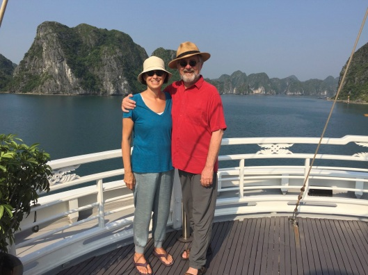 On our way to Cat Ba Island, with a photo thank you to Jeong Ransoo.