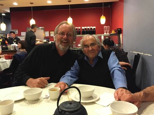 Celebrating life at Chengdu Taste with William Kraft.