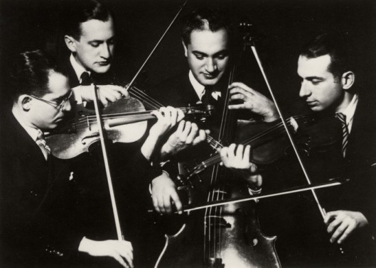 The Kolisch String Quartet 2nd, Lehner, cellist, Kolisch.