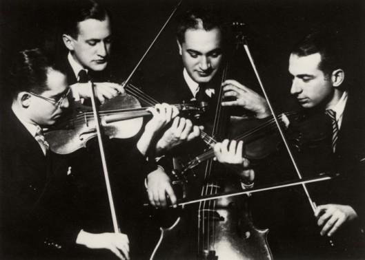 The Kolisch String Quartet 2nd, Lehner, cellist, Kolisch.